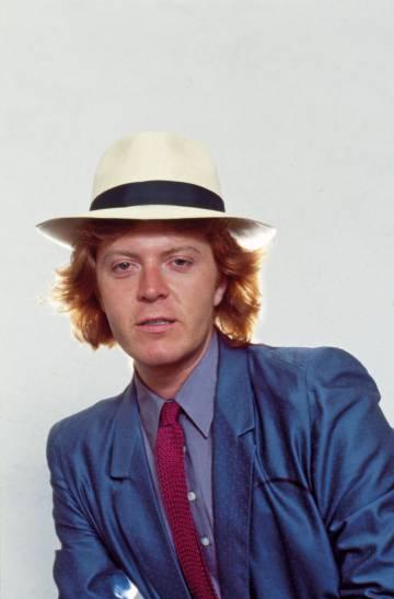 Umberto Tozzi en 1979. El cantante obtuvo grandes éxitos con temas como 'Te amo' o 'Gloria' a principios de los 70.
