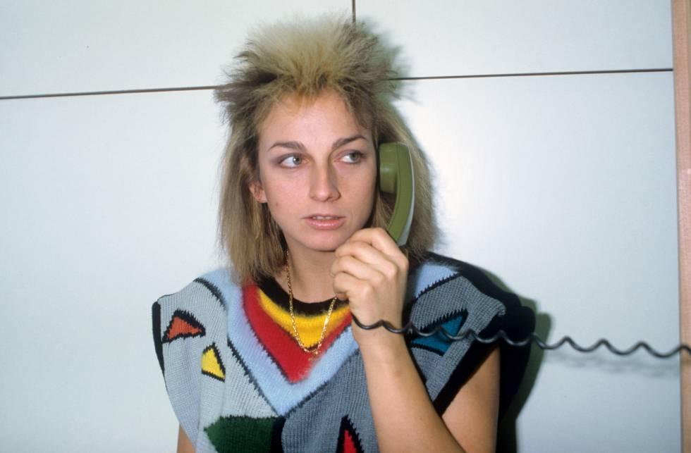 Gianna Nannini en 1983. Actualmente la cantante italiana, afincada en Londres, sigue en activo.