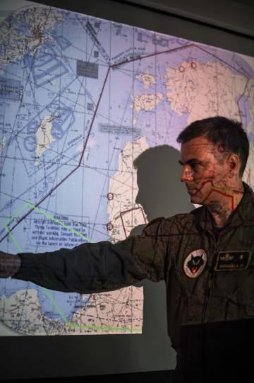 Un plan de vuelo para vigilar el Báltico.